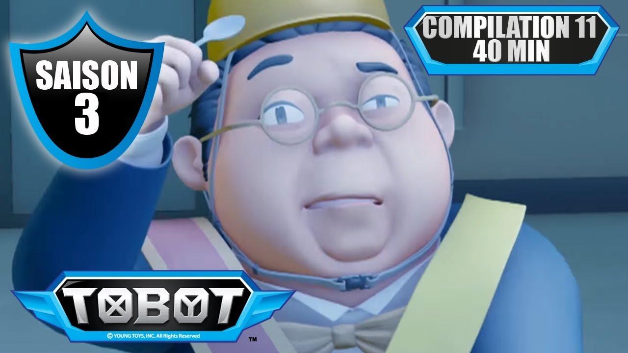TOBOT ⏱ Compilation 40 min de dessin animé (épisodes 21 et 22, saison 3)