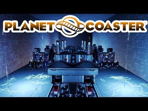 Planet Coaster Alpha 3 Gameplay - Insane Asylum! - Planet Coaster Alpha 3 Part 2