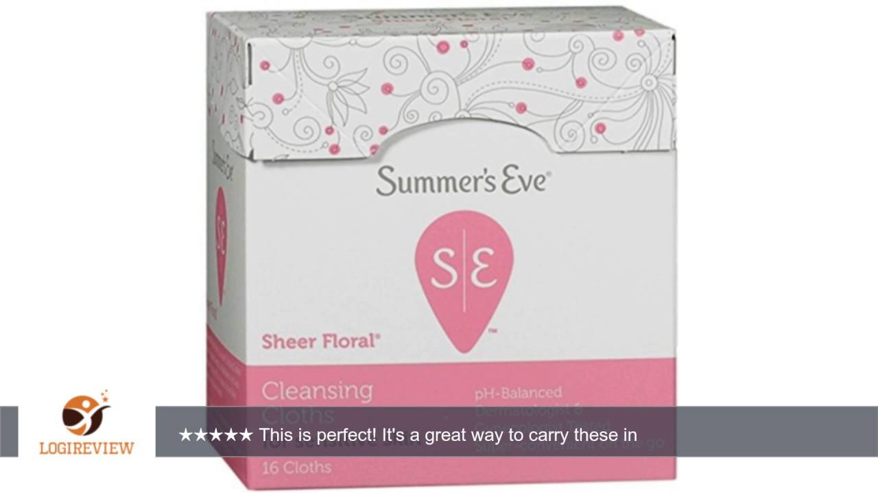 Summers Eve Eve Cleansing Cloths for Sensitive Skin, Sheer Floral 16 ea Anti-Wrinkle Moisturizing Whitening Gold Bio-Collagen Facial Mask - 5 Pack