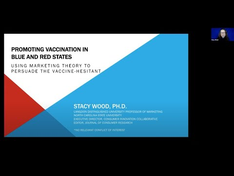 Vaccination Among Blue and Red States – Stanford Dept. of Medicine Grand Rounds - 6 Jan 2021