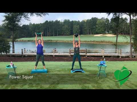 Improve Your Golf Swing and Your Fitness with the Cardiogolf Exercise-Power Squats