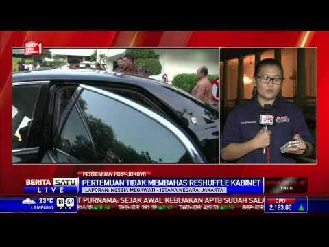 Pengurus PDIP Temui Jokowi di Istana Negara