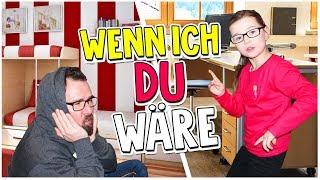 ELTERN vs. KIDS - Wenn ICH DU wäre 😂! 1 Tag Rollentausch 👨👧  Lulu & Leon