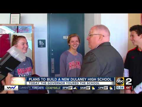Governor Hogan weighs in on decision to build new Dulaney High School