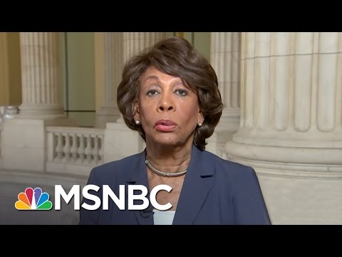 Rep. Maxine Waters Sounds Off On Donald Trump's Rhetoric | MSNBC