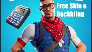 Free Fortnite Battle Royale Skin Prodigy and Kill Counter Backbling(Playstation Celebration)
