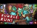 RUMBLEEEEEEEE RRRRUN!! | Singleplayer | Hearthstone