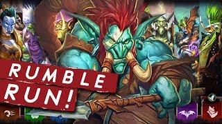 Download RUMBLEEEEEEEE RRRRUN!!   Singleplayer   Hearthstone Mp3 and Videos