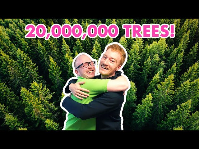 ZBrush Cowboys Make 20,000,000 Trees in 3D