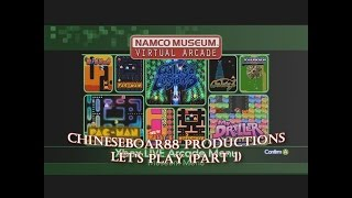 CB88 Productions: Let's Play Namco Museum Virtual Arcade Part 1