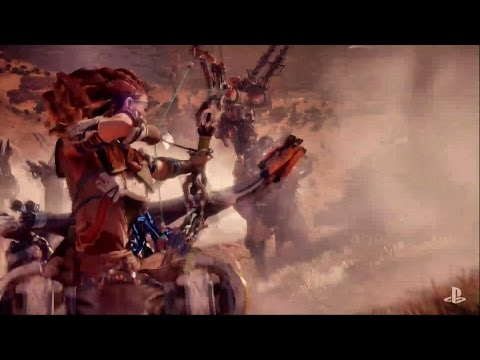 Horizon Zero Dawn PSX 2016 Trailer Poster