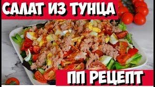 Вкусный Салат из ТУНЦА | Простой и вкусный салат с тунцом | Рецепт салата из тунца