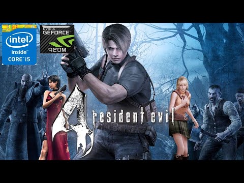 Resident Evil 4 Ultimate HD Edition on NVIDIA GeForce 920M |