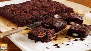 Chocolate, Cranberry & Macadamia Brownies