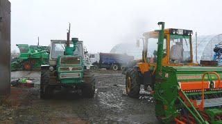 27-Д.(2С.).Ремонт тракторов МТЗ-1221,Т-150К,установка насоса на прицеп-бочку.(, 2015-04-11T20:20:10.000Z)
