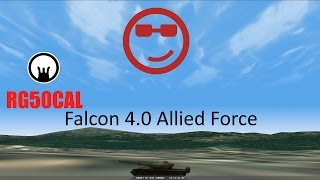 Falcon 4.0 Allied Force Gameplay (Edited)