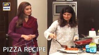 Pizza recipe  How to make pizza  Rubina Ashraf