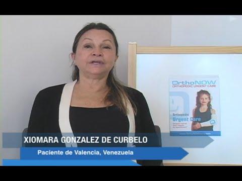 Xiomara Gonzalez de Curbelo - Dr Badia - Testimonio de Paciente de Venezuela