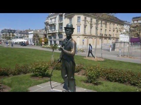 TOURISME EN SUISSE - Montreux. Vevey. deux villes son histoire et personnages