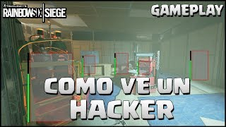 HACKER POR 1 DIA | Caramelo Rainbow Six Siege Gameplay Español wind bastion