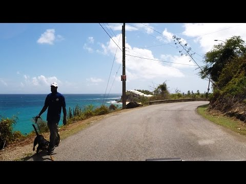 Driving in Antigua - Shirley Heights to Curtain Bluff via Fig Tree Drive