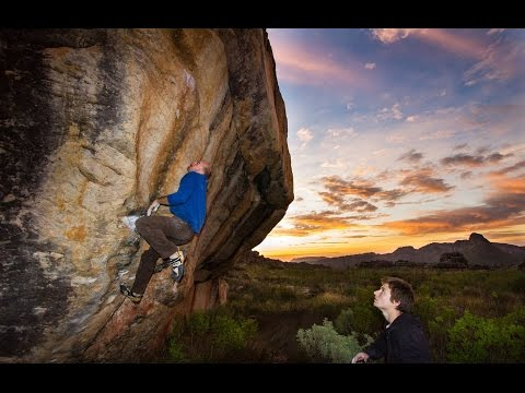 TRIPPIN IN ZA - Bouldering in Rocklands, Sport climbing in the Free State at Wow Prow