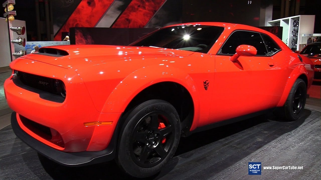 2018 Dodge Challenger Srt Demon Exterior Interior Walkaround