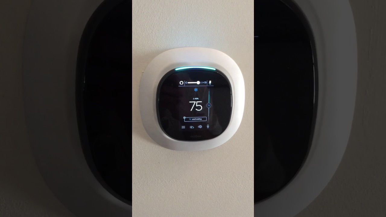 Ecobee4 Thermostat With Built-in Alexa Voice Control