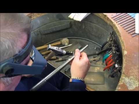 Two's Company: Making White Gold Rings