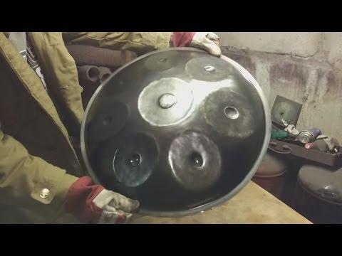 Хэндпан (Handpan). Как сделать! Делаем ханг своими руками!!! ХАНГ ДРАМ