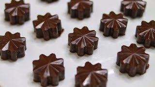 homemade milk chocolate with cocoa butter