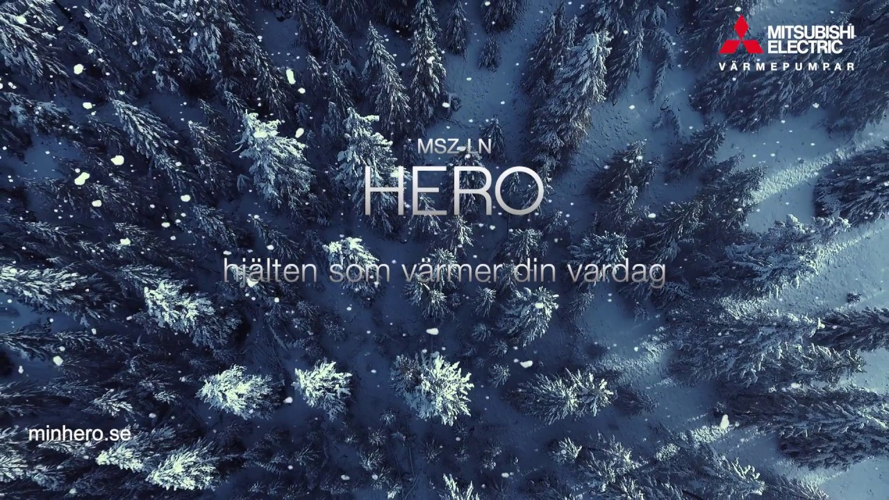 Hero - Värmepumpen med superegenskaper! - YouTube