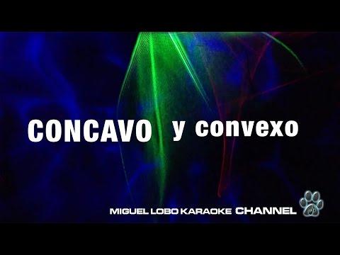 CONCAVO Y CONVEXO -  Alejandro Fernandez - Karaoke Channel Miguel lobo