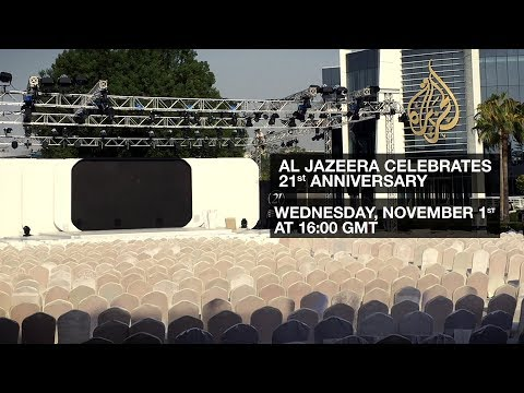 Al Jazeera celebrates its 21st anniversary