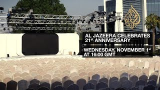 Al Jazeera celebrates its 21st anniversary