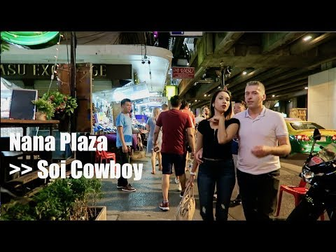 Bangkok Night walk - Nana to Cowboy - Dec 2018