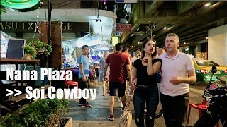 Bangkok Night walk - Nana to Cowboy - Dec 2018