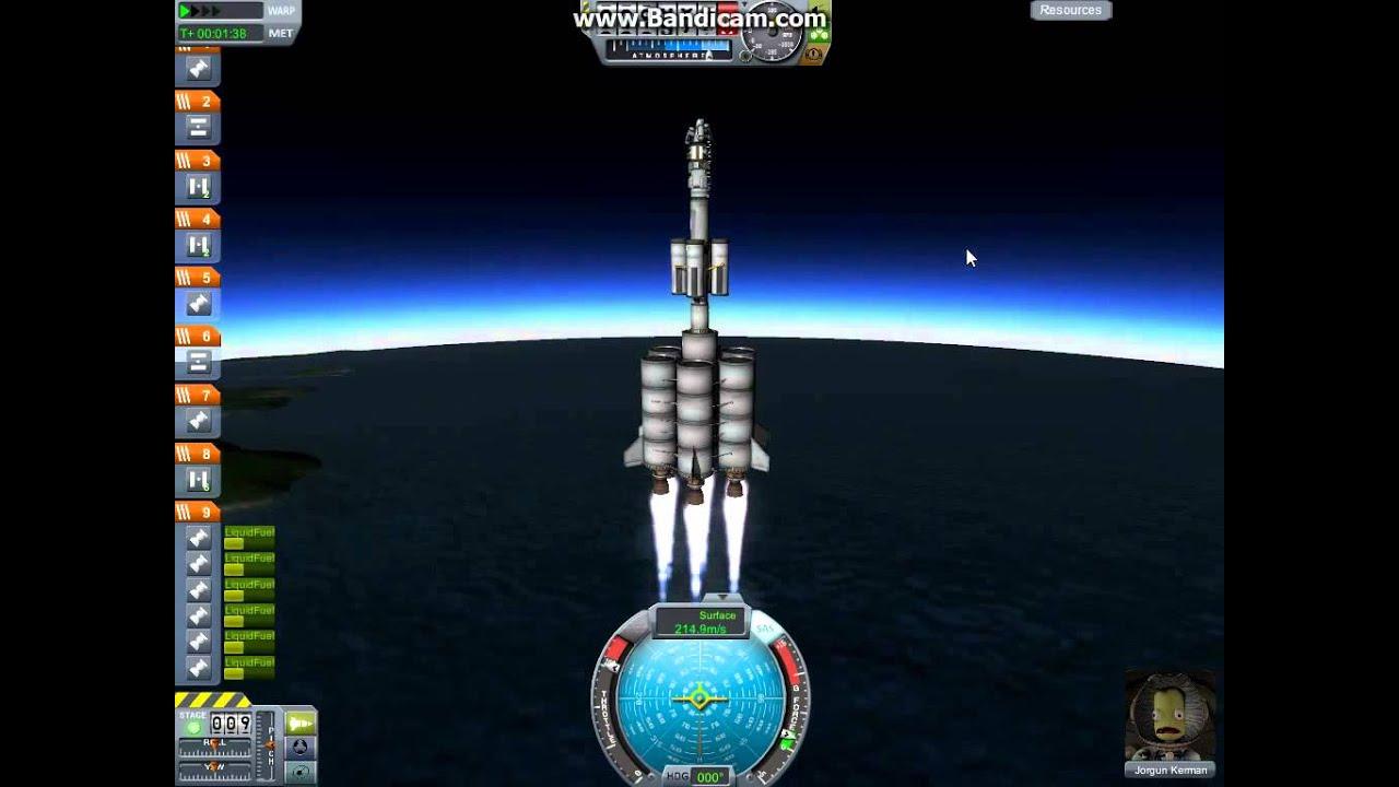 Kerbal Space Program Best Rocket Design Ever! Part 1 ...