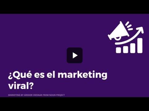 ¿Qué es el marketing viral?