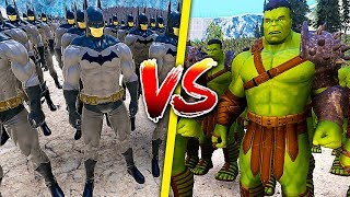 MARVEL vs DC (BATMAN vs IRON MAN) | ULTIMATE EPIC BATTLE SIMULATOR PL