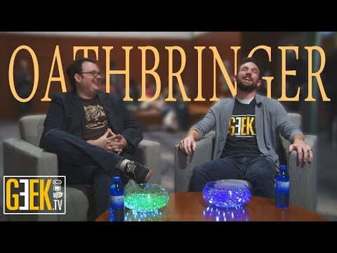 Brandon Sanderson Oathbringer Interview