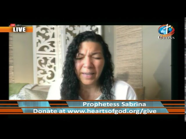 Prophetess Sabrina M. Evans ( it's Supernatural it's Real ) 08-21-2019