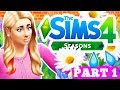 🌈☀️LET'S PLAY THE SIMS 4 SEASONS [PART 1] New Home!