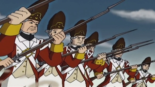 Liberty's Kids HD 106 - The Shot Heard 'Round the World | History Videos For Kids