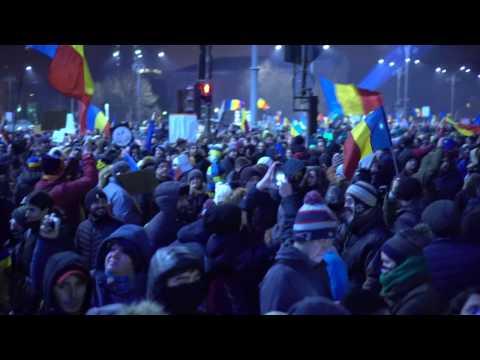 Linistea a 300 000 de oameni | Piata Victoriei | 5 Februarie 2017