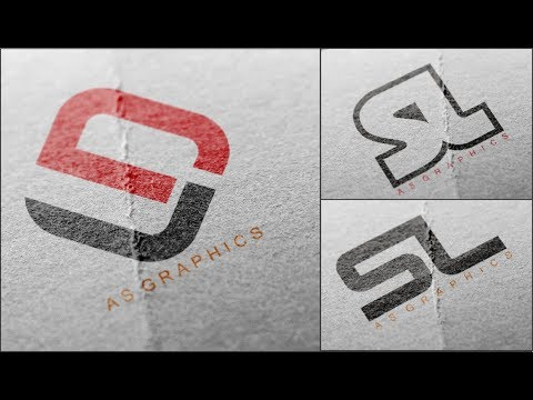 Logo Design tutorial - How to Make | SL - LS Logo Deisng in CorelDraw x7 thumbnail