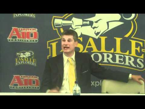 La Salle Post-Game Press Conference - Dr. John Gia...