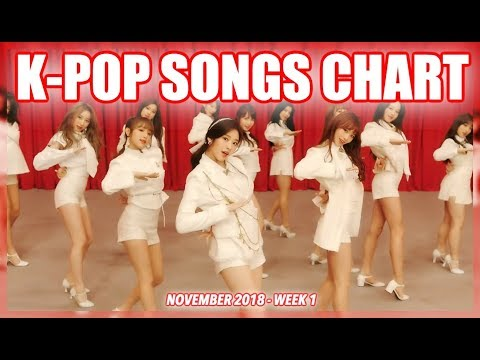 K-POP SONGS CHART | NOVEMBER 2018 (WEEK 1)