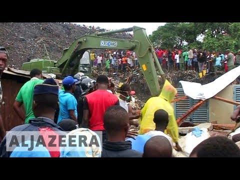 🇲🇿 Mozambique dump collapse: 17 dead, homes destroyed