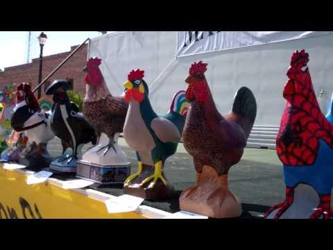 Wayne Chicken Show 2011 Concrete Chickens